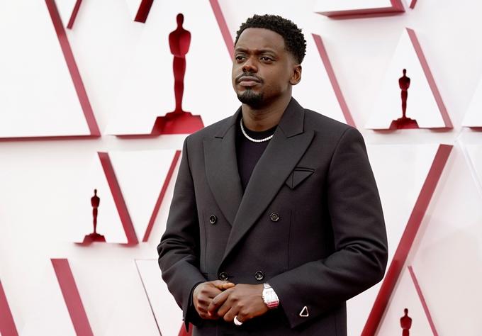 Daniel Kaluuya dự giải Oscar.
