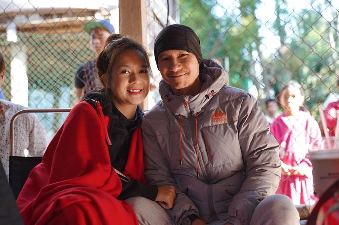 Vợ chồng Lý Hải - Minh Hà trên trường quay phim Lật mặt: 48h.