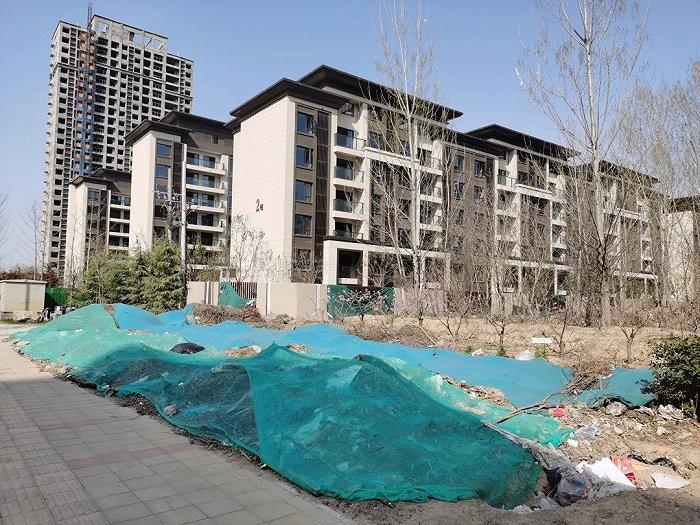 Bất động sản thuộc Thị trấn Nghệ thuật Núi Tuyết Lệ Giang mà Lý Á Bằng đầu tư giờ bỏ hoang.