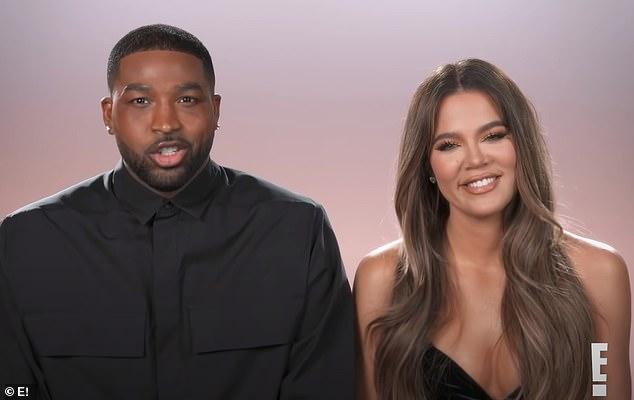 Tristan Thompson và Khloe Kardashian xuất hiện cùng nhau trong show truyền hình Keeping Up With The Kardashian gần đây.