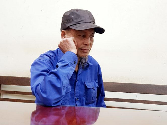 Vũ Văn Việt bị tạm giữ tại Công an huyện Phú Bình.