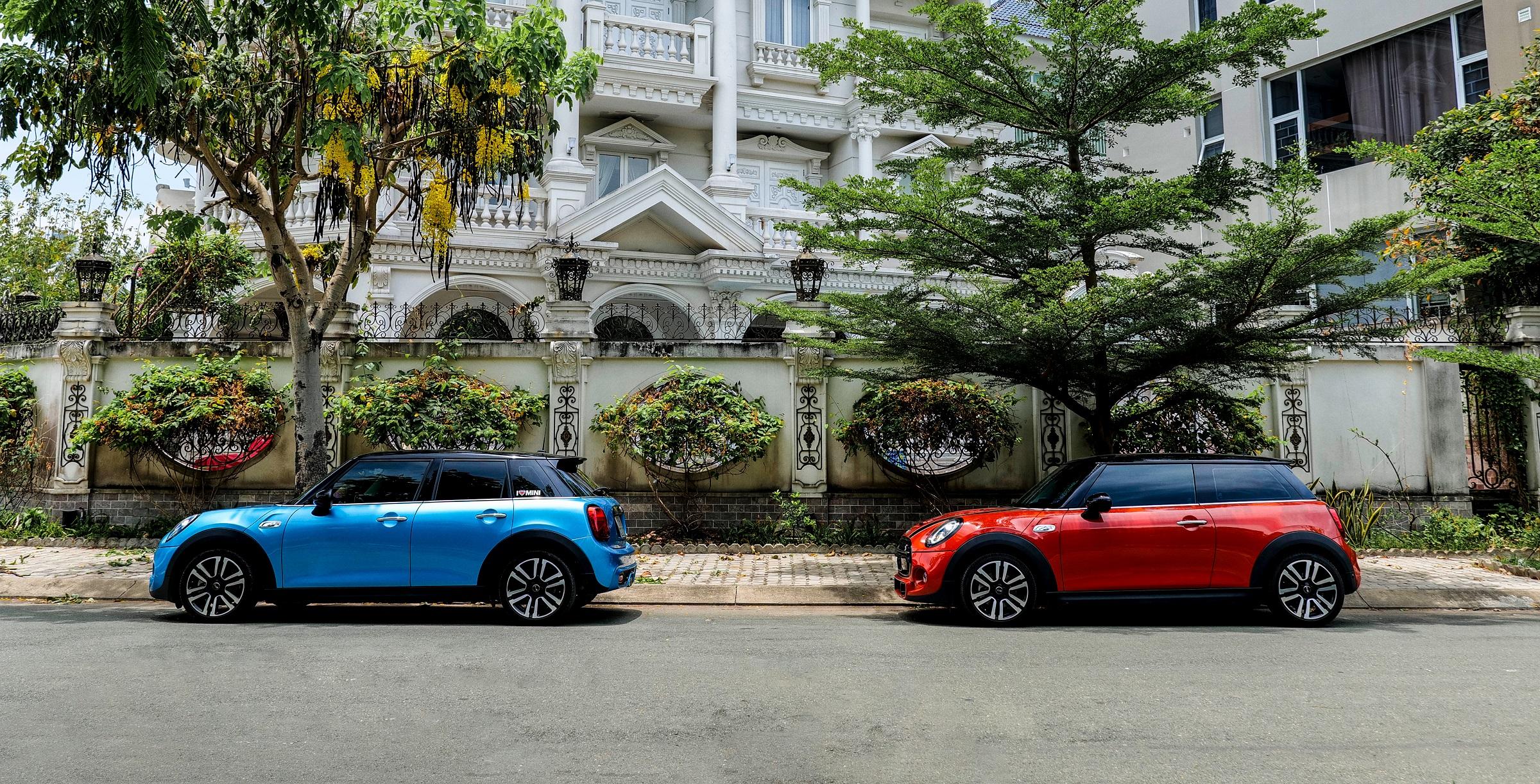 Các màu sắc thời trang của MINI Cooper S 5 Cửa mang lại lựa chọn đa dạng cho chủ xe, thỏa thích thể hiện cá tính, phong cách riêng. Ảnh: MINI Việt Nam.