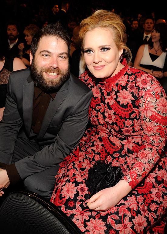 Adele và chồng cũ khi còn bên nhau.