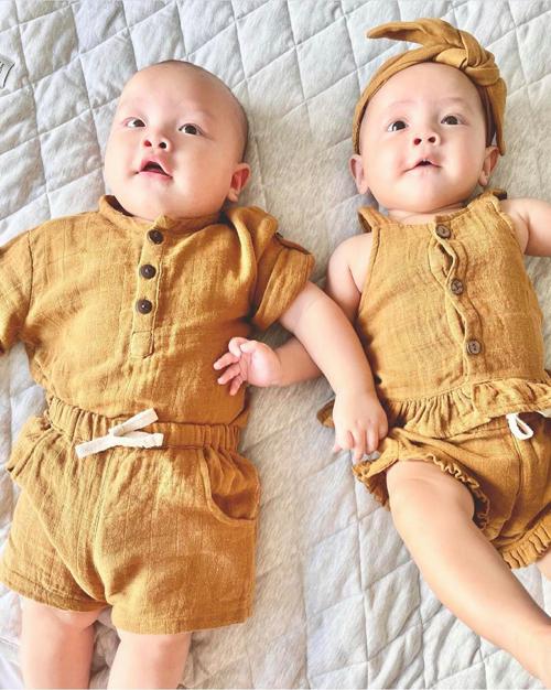 Đồ đôi con nhà Hồ Ngọc Hà - Kim Lý - 5
