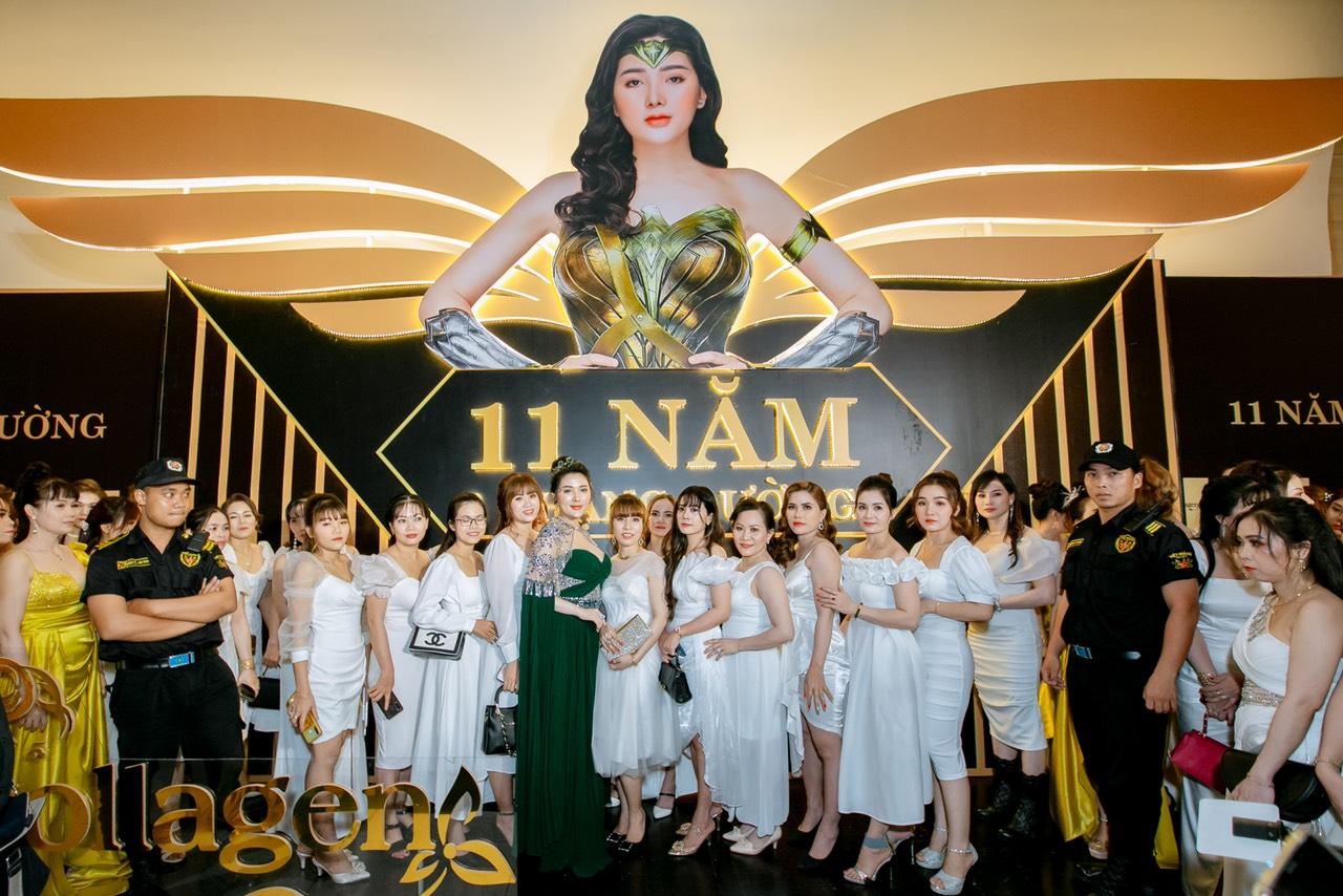 Sự kiện 11 năm một chặng đường do doanh nhân Trần Thị Bích Ngân đứng ra tổ chức đã diễn ra vào ngày 25/4.