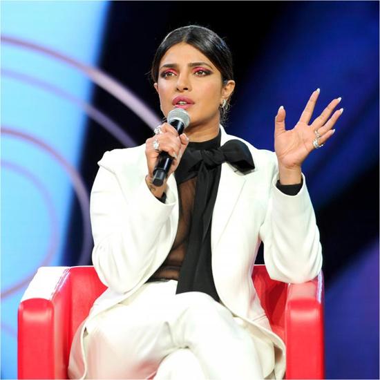Hoa hậu, diễn viên Priyanka Chopra.