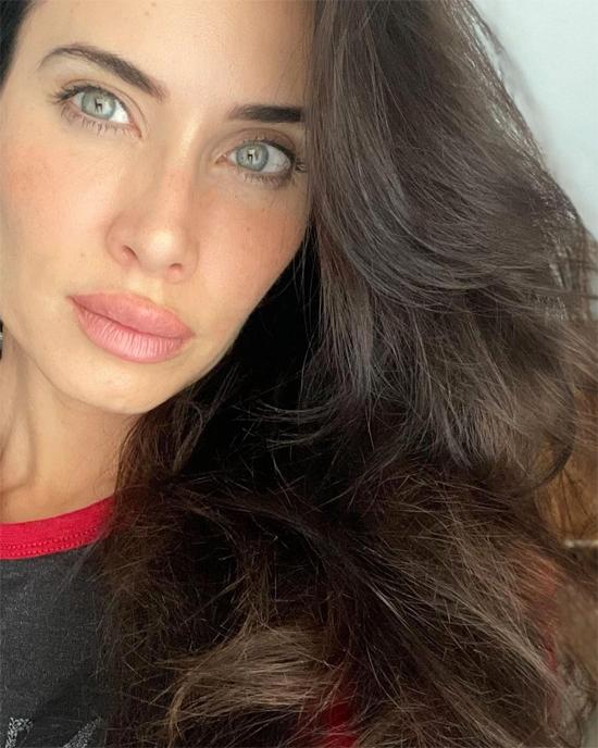 Vợ Ramos trong bức ảnh đôi môi bị bình phẩm. Ảnh: Instagram.