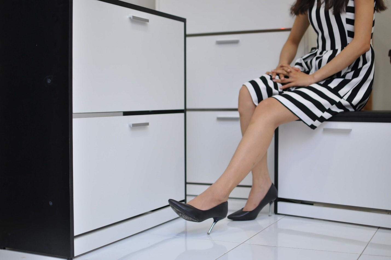 Những mẫu tủ giày thông minh Văn Thành. Ảnh: Văn Thành.