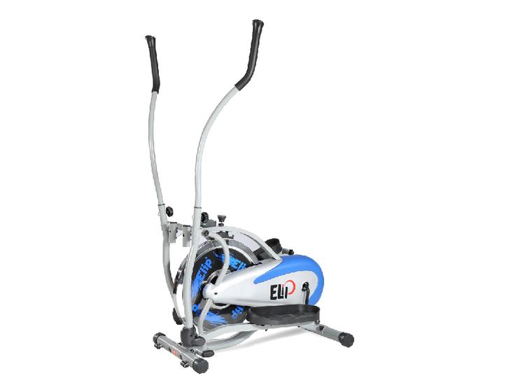Xe đạp tập tổng hợp Elip Ver 1 không yên, giúp người sử dụng tập đồng thời cả chân, tay và tác động lên toàn thân. Xe làm từ chất liệu thép chịu lực cao, sơn tĩnh điện chống gỉ và một số bộ phận bằng nhựa. Bánh đà làm từ hợp kim, khả năng cản lực tốt mang đến nhiều bài tập đạp xe hiệu quả cao. Xe trang bị Đồng hồ hiển thị vận tốc, thời gian, quảng đường, calo tiêu thụ. Nặng 25 kg, xe chịu được tải trọng 110 kg. Sản phẩm đang được giảm giá 14% còn 2,75 triệu đồng.
