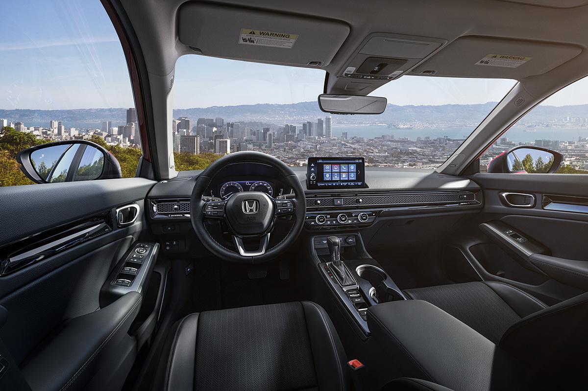 Không gian cabin của Honda Civic 2022.