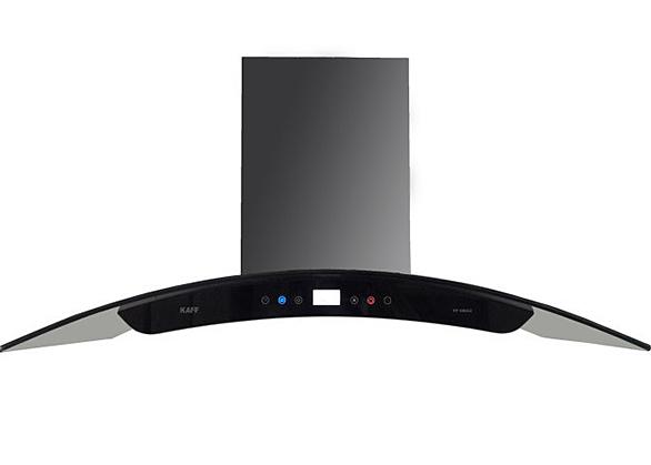 Máy hút mùi bếp kính cong 7 tấc cảm ứng KAFF KF-GB702 - Bạc 3.850.000đ (- 22 %)Công suất hút 1000m3/hHệ thống điều khiển cảm ứngBảo hành chính hãng - 36 thángKích thước: 70 x 47.5 x 14 cm Đây được coi là dòng máy hiện đại nhất hiện nay, máy hút mùi kính bếp kính cong 7 tấc dòng cảm ứng cao cấp KAFF KF-GB702 đang rất được người tiêu dùng lựa chọn cho những không gian bếp có thiết kế rộng. Đặc điểm nổi bật của máy hút mùi kính cong thương hiệu KAFF, công nghệ Đức đó là công suất hút cực mạnh lên đến 1000m3/h, kiểu dáng lại trang nhã, hiện đại đẹp mắt. Máy hút mùi bếp kính cong tum kính 7 tấc dòng cảm ứng cao cấp KAFF KF-GB702 là dòng máy được ưa thích chọn mua nhiều nhất  hiện nay tại Việt Nam.Ưu điểm đầu tiên của máy hút mùi bếp kính cong tum kính 7 tấc dòng cảm ứng cao cấp KAFF KF-GB702 là mẫu mã sang trọng, tum Kính cường lực  chịu nhiệt dày 8mm tráng men bóng cao cấp sẵn sàng thách thức với dầu mỡ và môi trường nhiệt độ cao. Ngoài ra, thân máy được làm bằng chất liệu inox cao cấp không han gỉ, dày 0.7mm. Chất liệu inox vừa tăng thêm vẻ sang trọng cho sản phẩm và có độ bền bỉ cao. Để đảm bảo máy hút mùi luôn mới, bạn nên vệ sinh máy thường xuyên theo hướng dẫn sử dụng đi kèm sản phẩm.