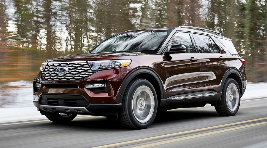 Ford Explorer 2021 lăn bánh tại Mỹ.
