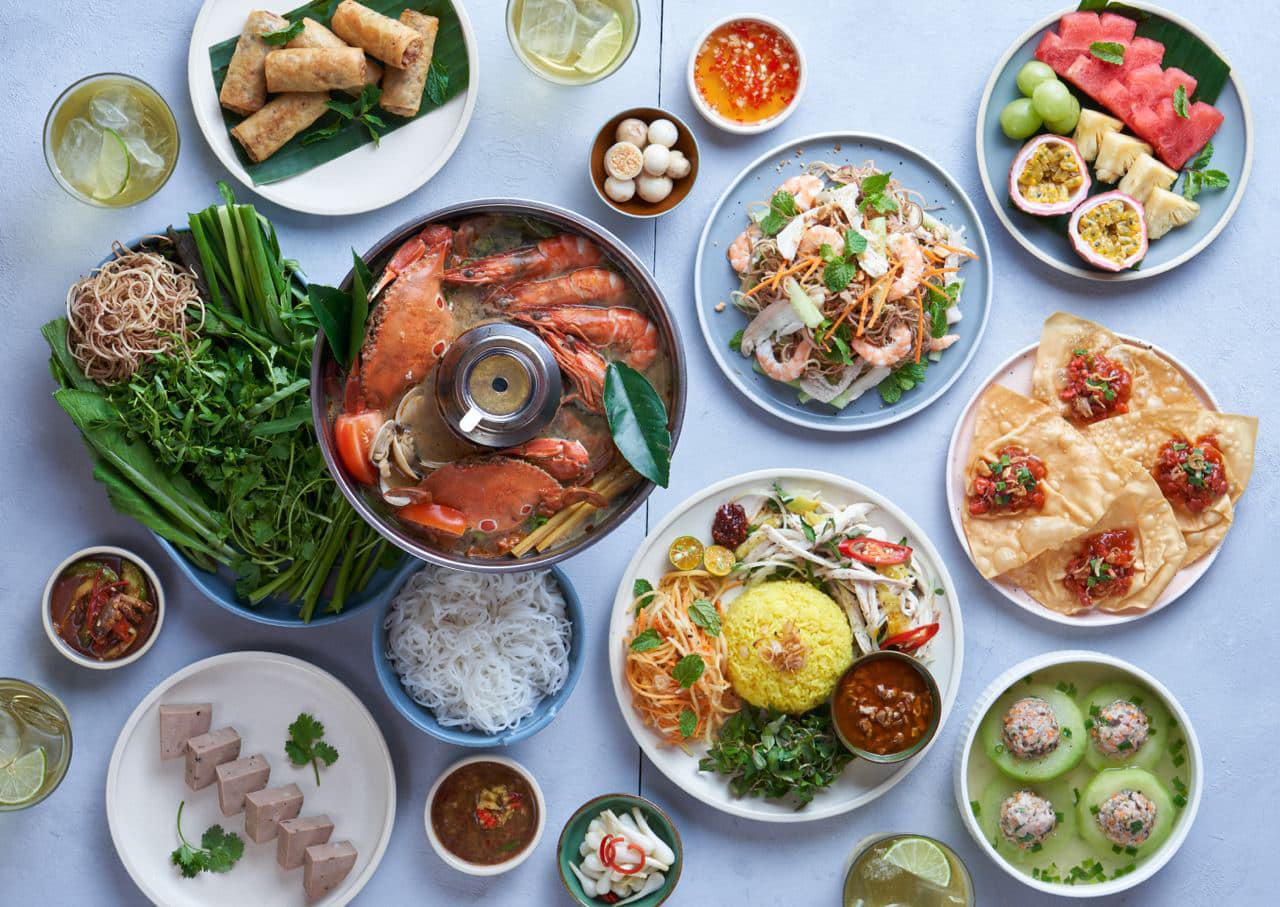 Hàng trăm món ngon dân dã, đậm đà hương vị Việt cho bạn thỏa thích thưởng thức khi đến Madam Kiều.
