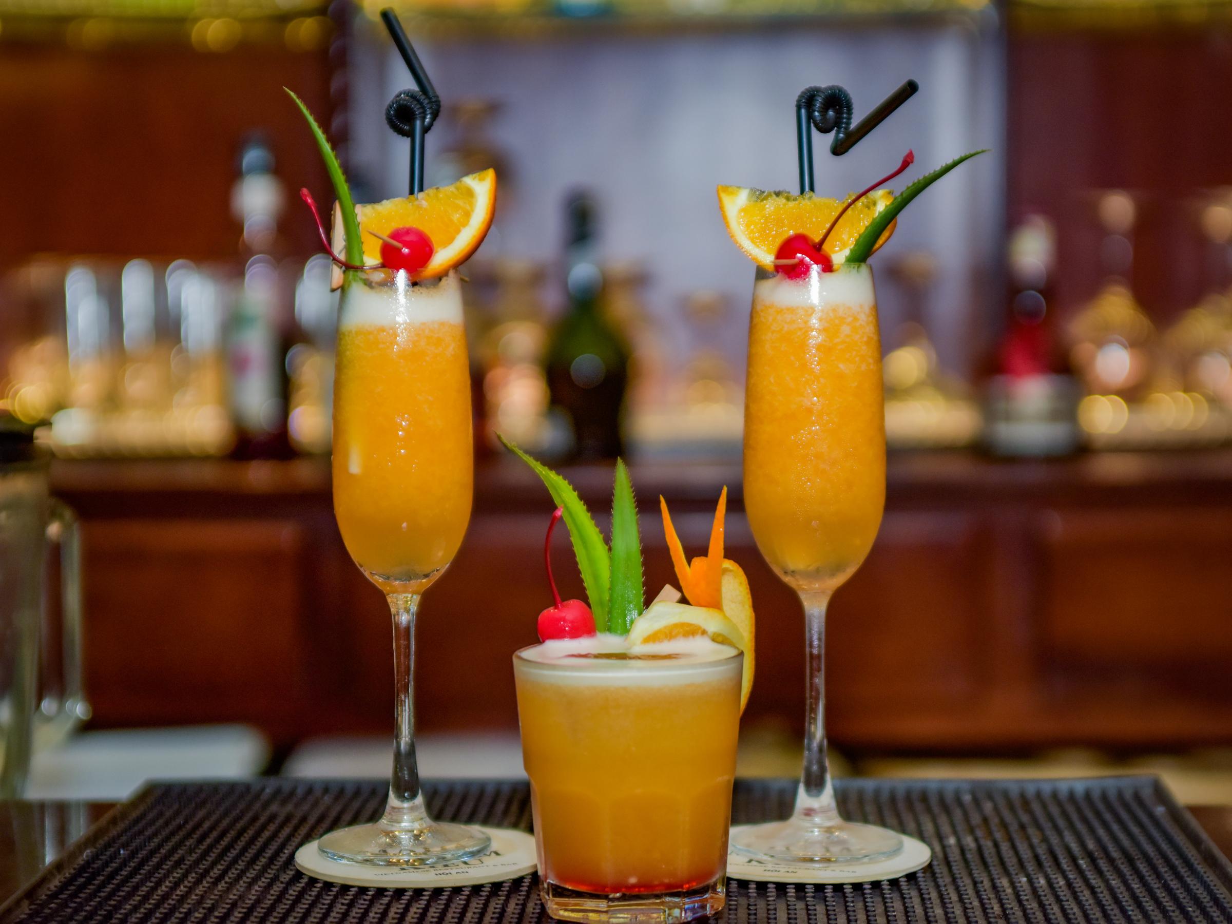 Những ly cocktail đặc biệt kích thích vị giác của bạn khi ghé Madam Kiều.