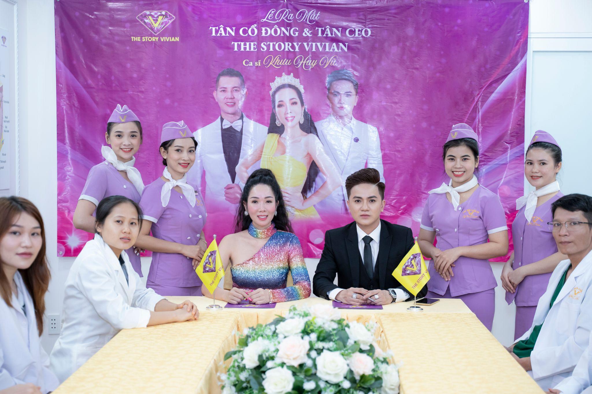 Ca sĩ Khưu Huy Vũ vừa trở thành CEO Vivian Group.