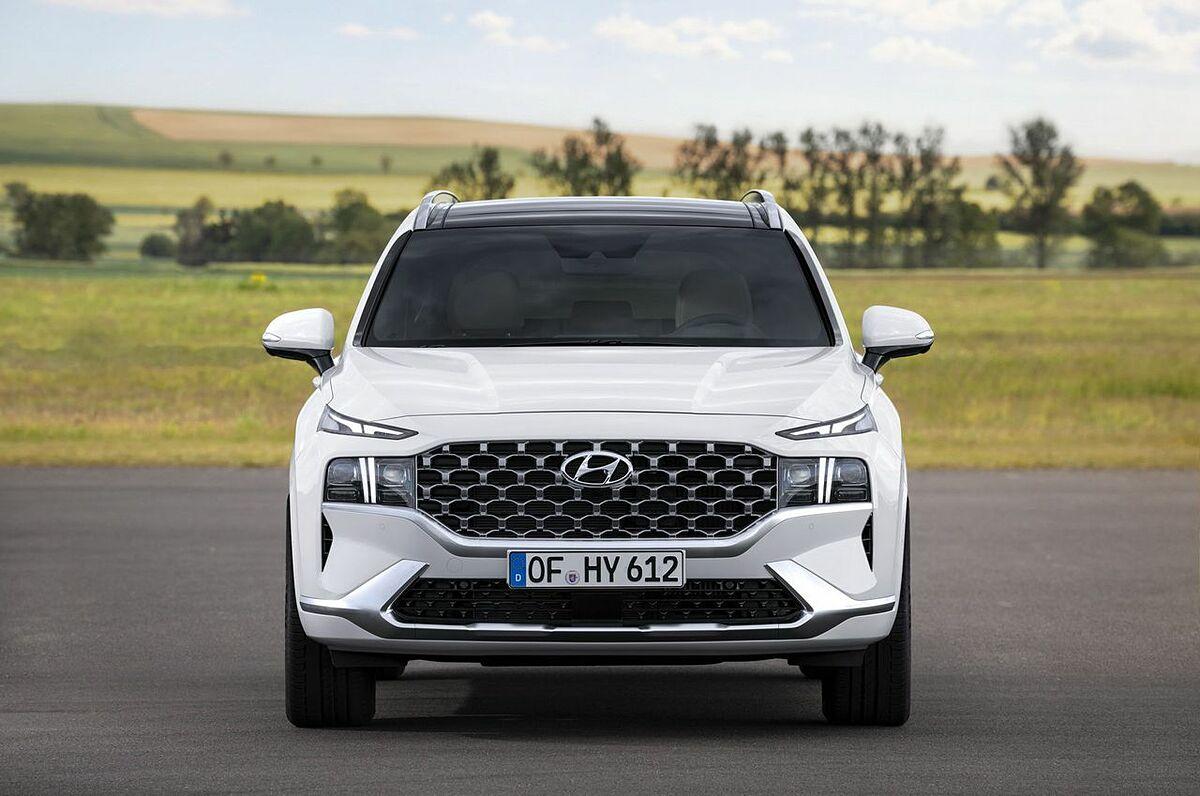 Hyundai Santa Fe 2021 tại thị trường quốc tế.