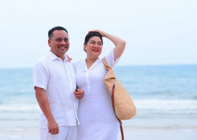 Shark Liên bên chồng - ông Lê Toàn.