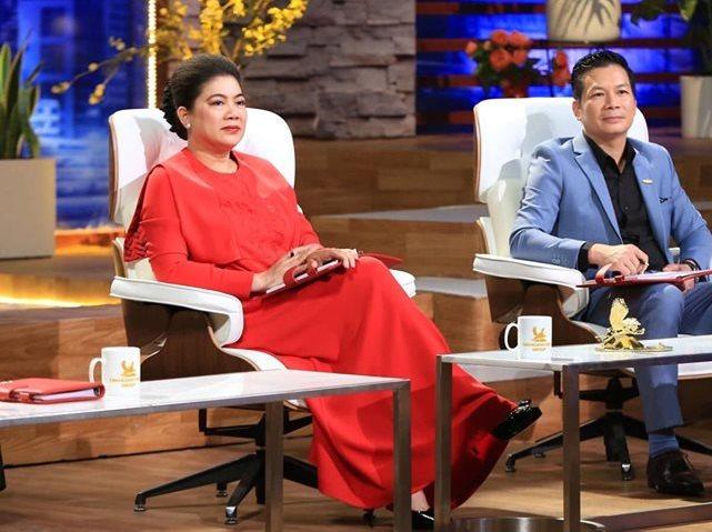 Shark Liên ngồi ghế nóng Shark Tank 2019 cùng Shark Hưng (Phạm Thanh Hưng).