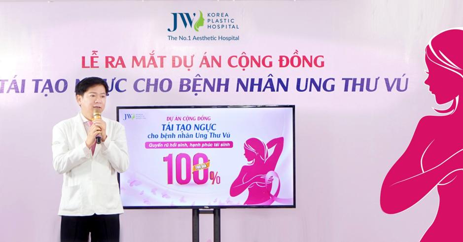 Bác sĩ Tú Dung bày tỏ nguyện vọng tiếp tục hỗ trợ chữa lành vết thương cho các bệnh nhân bị cắt tuyến vú.