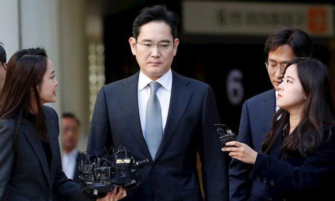 Thái tử Lee Jae-yong tăng quyền lực tại Samsung. Ảnh: Reuters.