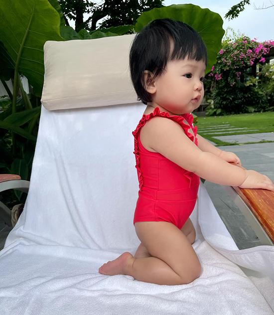 Cường Đôla - Đàm Thu Trang cùng con gái nghỉ dưỡng Đà Nẵng - 3