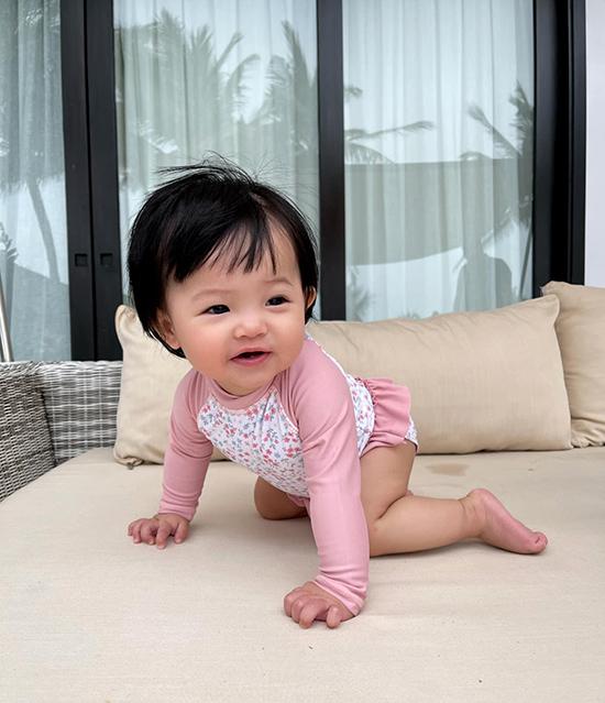 Cường Đôla - Đàm Thu Trang cùng con gái nghỉ dưỡng Đà Nẵng - 2