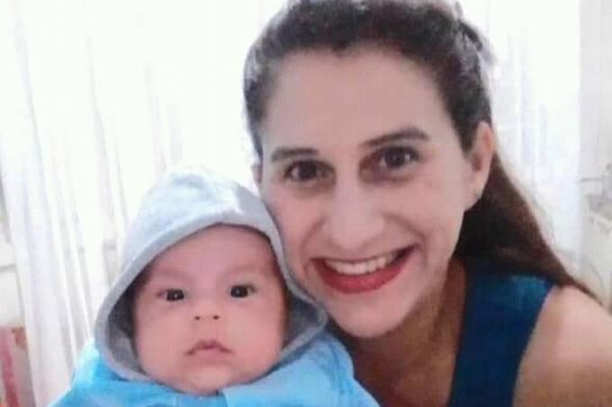 Josiele Lopes và con trai tử vong sau khi bị chồng đầu độc. Ảnh: Newsflash.