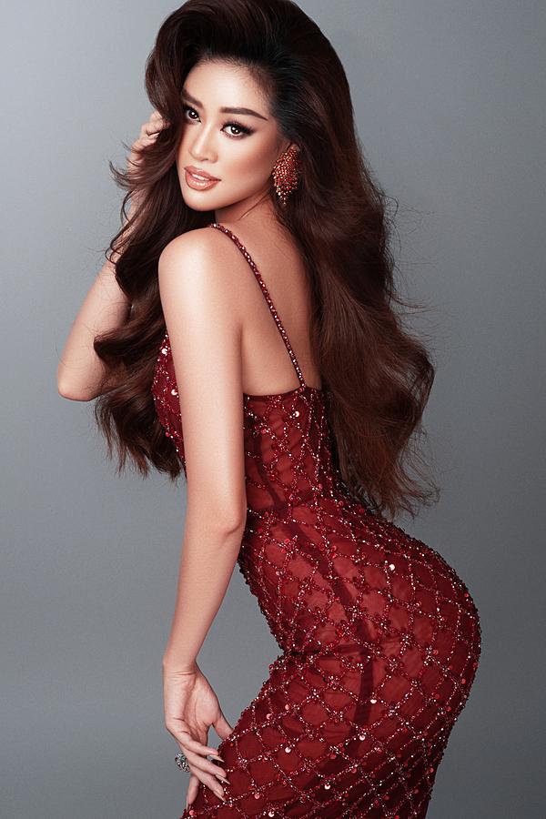 Hoa hậu Khánh Vân sẵn sàng cho Miss Universe 2020.