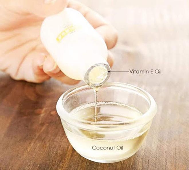 Kết hợp vitamin E với các sản phẩm dưỡng da giúp tăng cường hiệu quả.