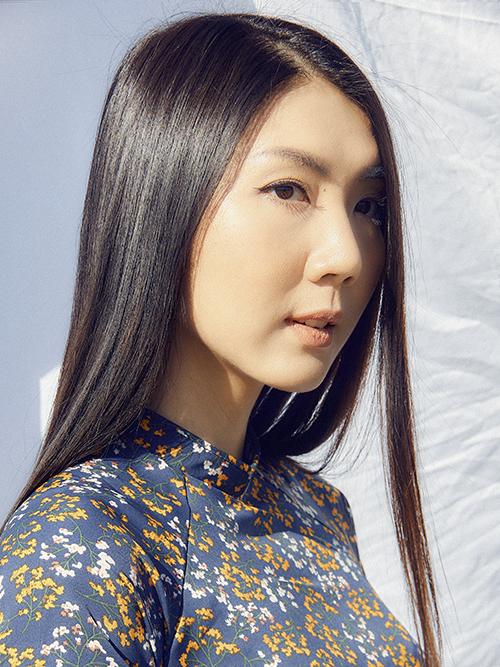 Cựu người mẫu Ngọc Quyên. Ảnh: Châu Phú