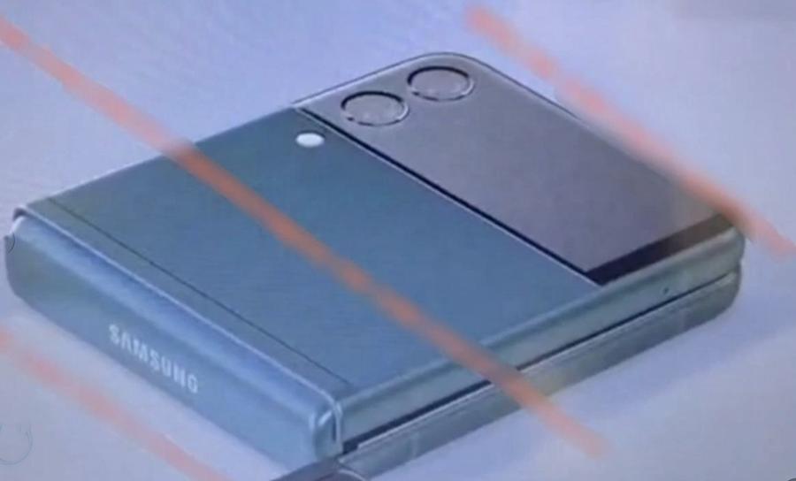 Galaxy Z Flip 3 lộ diện.