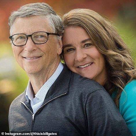 Vợ chồng Bill Gates thời còn mặn nồng. Ảnh: Instagram.