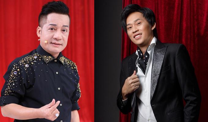 Nghệ sĩ Minh Nhí (trái) và Hoài Linh được kỳ vọng sẽ tạo nét mới mẻ cho Thách thức danh hài 2021.
