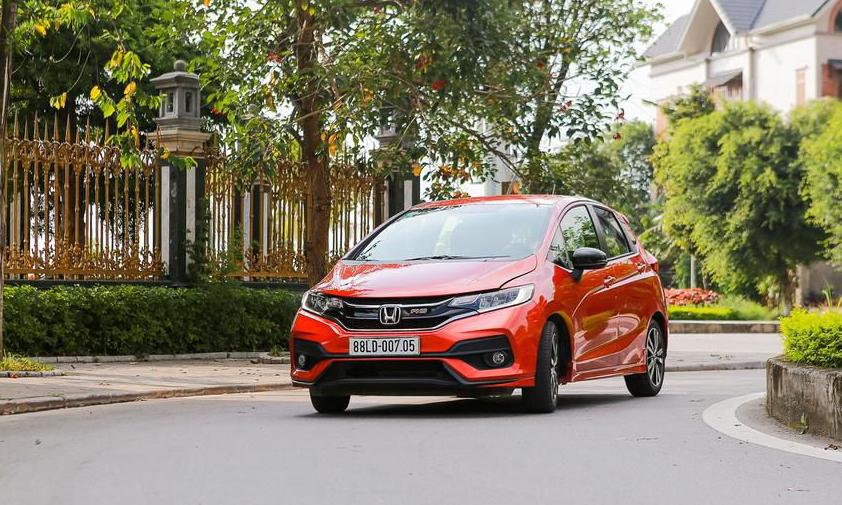 Jazz, một trong những mẫu ôtô Honda trong diện triệu hồi.