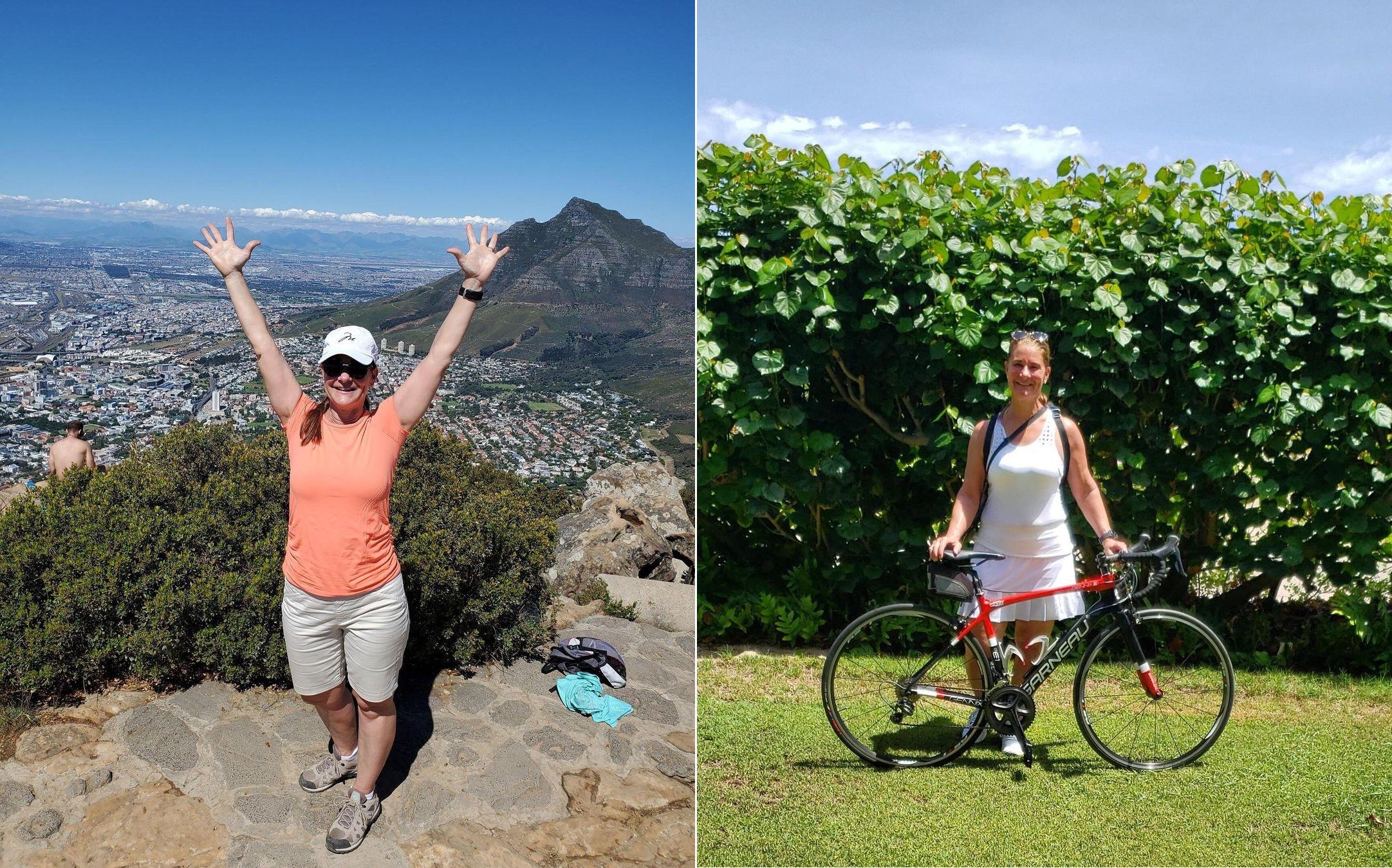Bà Melinda thường dành thời gian hiking cùng bạn bè và không ngại thử sức với các bộ môn thể dục, thể thao ngoài trời.