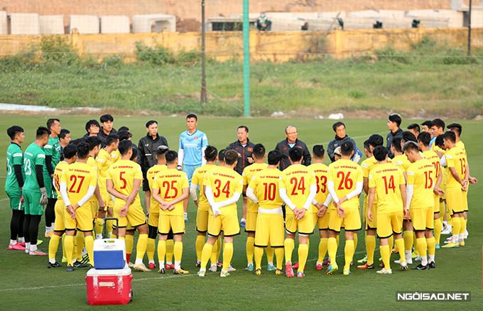 Tuyển Việt Nam sẽ hội quân tại địa điểm quen thuộc là Trung tâm đào tạo bóng đá trẻ VFF từ ngày 10-18/5 tới. Ảnh: Đương Phạm.