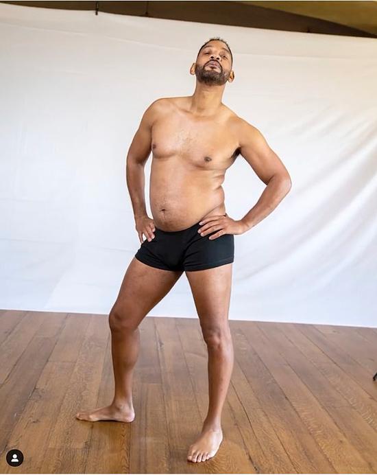 Will Smith đăng ảnh béo mập sau một năm nghỉ ngơi tránh dịch.