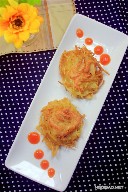 8 món khoai tây cho bé những ngày học ở nhà - 6