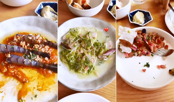 Hà Hồ - Kim Lý hẹn hò ở tiệm kem yêu thích của Hà Tăng - 1