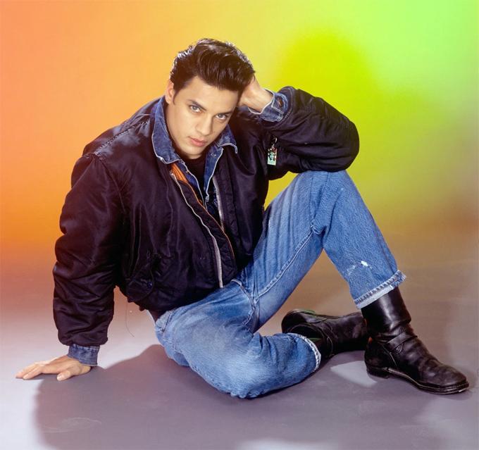 Người mẫu Nick Kamen.