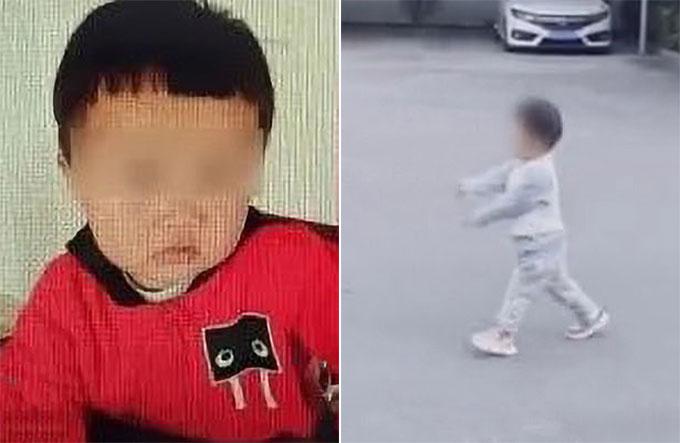 Cậu bé Jiajia (2 tuổi) bị bố bán đi ở tỉnh Chiết Giang, Trung Quốc. Ảnh: Asia Wire.