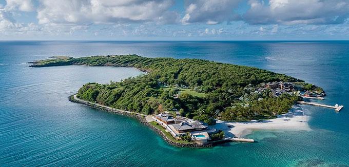 Đảo Calivigny ở Caribe - nơi bốn mẹ con Melinda Gates đi nghỉ dưỡng. Ảnh: Calivigny-island.com.