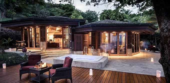 Đảo Calivigny - nơi nghỉ dưỡng thiên đường cho giới siêu giàu. Ảnh: Calivigny-island.com.