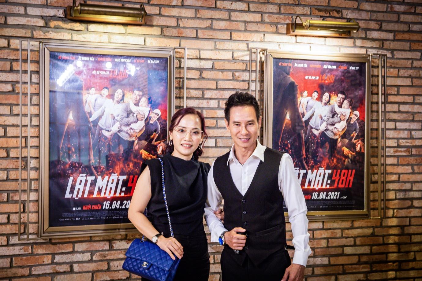 Lý Hải và bà Lý Thanh Phong - Giám đốc Công ty TNHH Thadan 3DX Global.