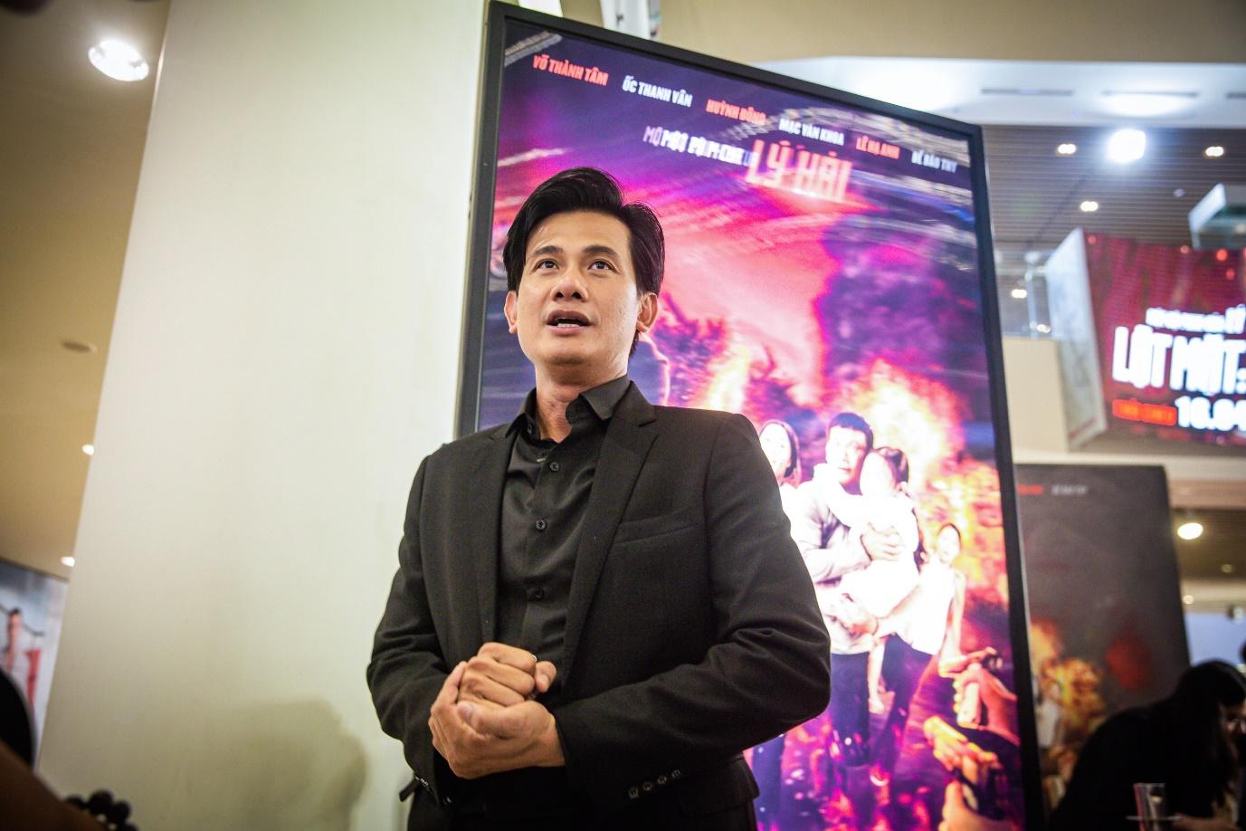 Nam chính Võ Thành Tâm hết lòng khen ngợi poster phim lần này.