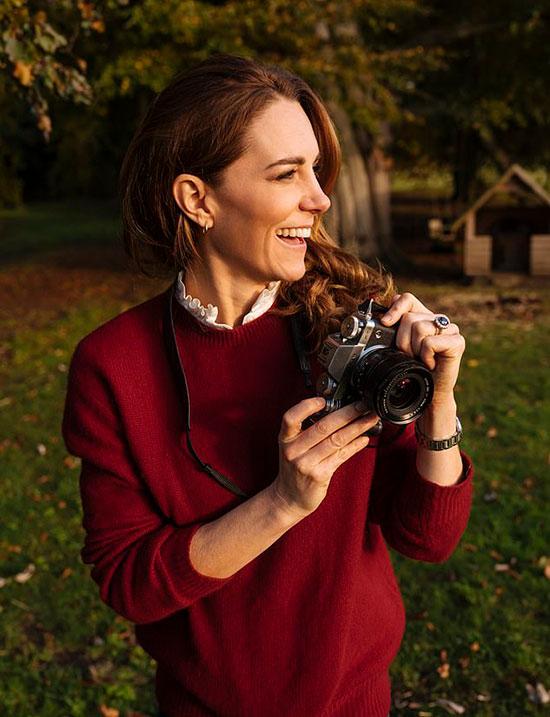 Kate - Nữ công tước xứ Cambridge - một nhiếp ảnh gia bán chuyên. Ảnh: Instagram.