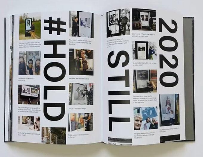Một trang trong cuốn sách ảnh do Kate thu thập và giới thiệu. Ảnh: Hold Still.
