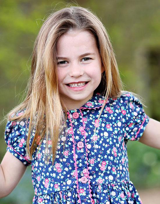 Công chúa Charlotte kỷ niệm sinh nhật 6 tuổi hôm 2/5. Ảnh: Kate Middleton.