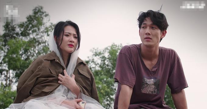 Minh Trang đóng cặp Song Luân.