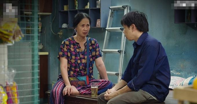NSND Lan Hương đóng vai bà hàng xóm nhiều chuyện nhưng tình cảm, tử tế.